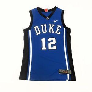 low priced 8c95e 13a9e Nike Elite Duke Blue Devils Basketball Jersey